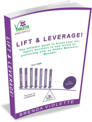 Lift & Leverage: Ultimate guide to boost your six-figure business to new levels with an Online Business Manager