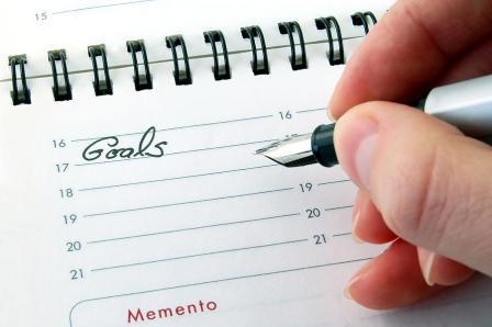 اهداف خود را بنویسید